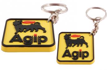 Brelok 3D żółty - Agip