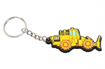 Brelok 3D żółty - Caterpillar