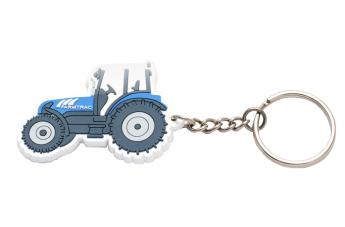 Brelok 3D biały - Farmtrac