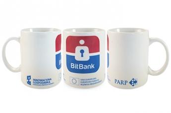 Kubek reklamowy - Bit Bank