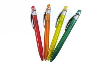 Długopisy plastikowe - ciekawe wzory