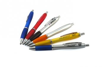 Długopisy plastikowe z logo