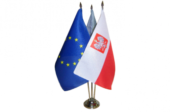 Flagietki - Polska i Unia Europejska