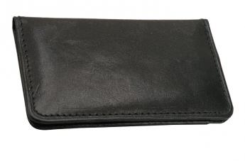Skórzany portfel czarny