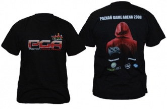 Koszulka PGA czarna