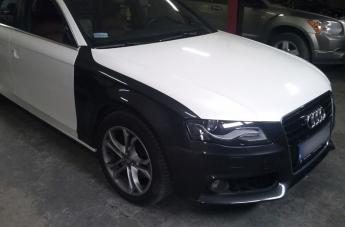 Audi - w trakcie oklejania - 3