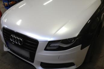 Audi - w trakcie oklejania - 5