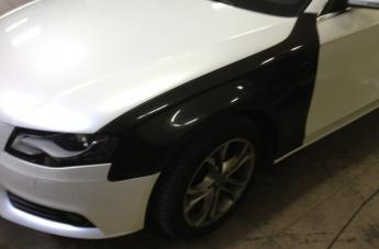 Audi - w trakcie oklejania - 4