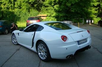 Oklejanie Ferrari 599 - po oklejeniu - 2