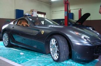Oklejanie Ferrari 599 - przed oklejeniem - 2