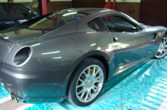 Oklejanie Ferrari 599 - przed oklejeniem - 3