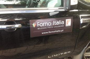 Oklejanie pojazdów - Forno Italia