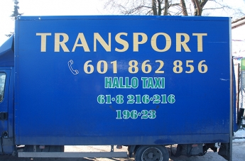 Oklejanie pojazdów - Hallo Taxi - 2