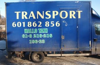 Oklejanie pojazdów - Hallo Taxi - 3