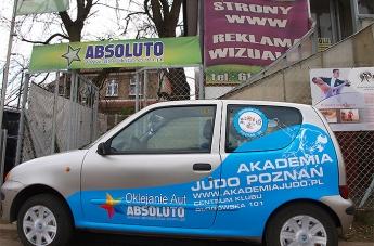 Oklejanie pojazdów - Judo Poznań - 4