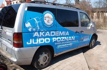 Oklejanie pojazdów - Judo Poznań (bus) - 7