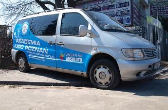 Oklejanie pojazdów - Judo Poznań (bus) - 8