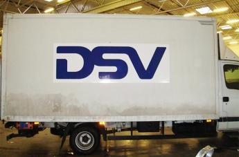 Oklejanie pojazdów - DSV - 3