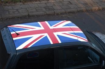 Oklejanie pojazdów - Flaga Brytyjska - 1