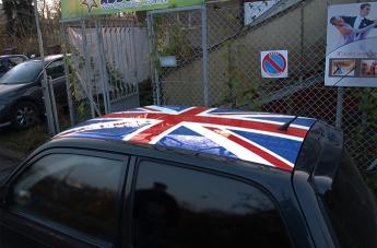Oklejanie pojazdów - Flaga Brytyjska - 2