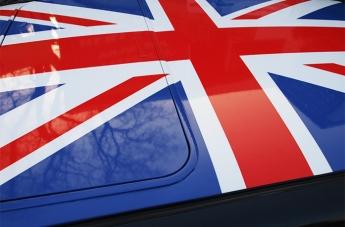 Oklejanie pojazdów - Flaga Brytyjska - 3