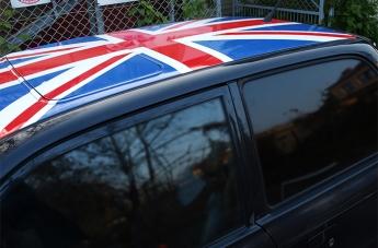 Oklejanie pojazdów - Flaga Brytyjska - 4