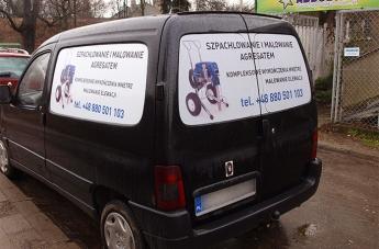 Oklejanie pojazdów - Wyk. Wnętrz - 2