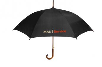Parasol reklamowy - MAN Service
