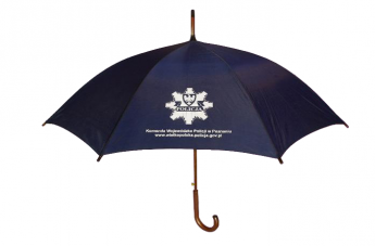 Parasol reklamowy - Policja