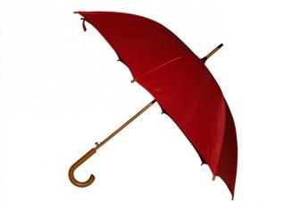 Parasol reklamowy - czerwony