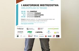Amatorskie Mistrzostwa Wielkopolski w Tenisie