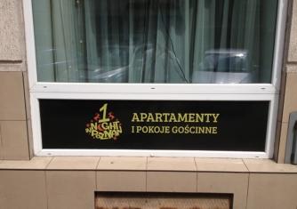Witryna sklepowa - Apartamenty gościnne - 2