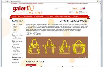 Sklep internetowy - Galeria w Sieci