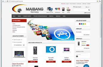 Sklep internetowy - Maibang GmbH
