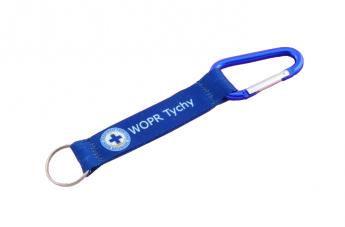 Smycz krótka niebieska - WOPR Tychy