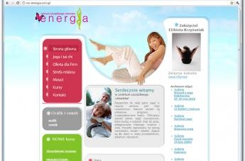 Strona internetowa - Centrum Szczęśliwego Człowieka