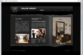 Strona internetowa - Salon Urody Joanna Perz