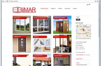 Strona internetowa - Okna Limar