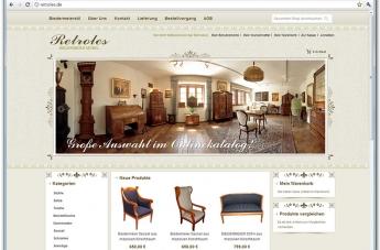 Strona internetowa - Retroles Biederbeier Möbel