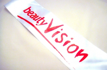 Szarfy dla hostess - beauty Vision