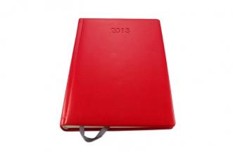 Kalendarz z wytłoczoną datą