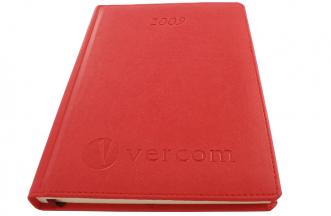 Tłoczenie na kalendarzu - Vercom