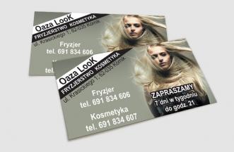 Wizytówki - Oaza Look