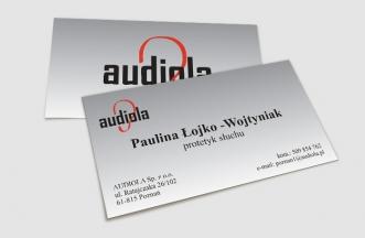 Wizytówki - Audiola
