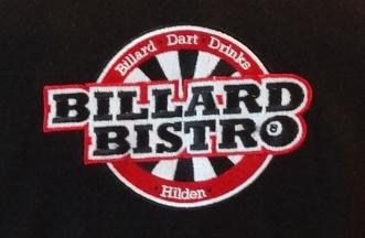 Logo na bluzie - Billard Bistro
