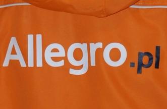 Logo na bluzie - Allegro