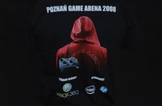Logo na koszulce - Poznań Game Arena